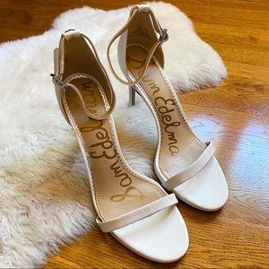 Sam Edelman Ariella White Strappy Heel